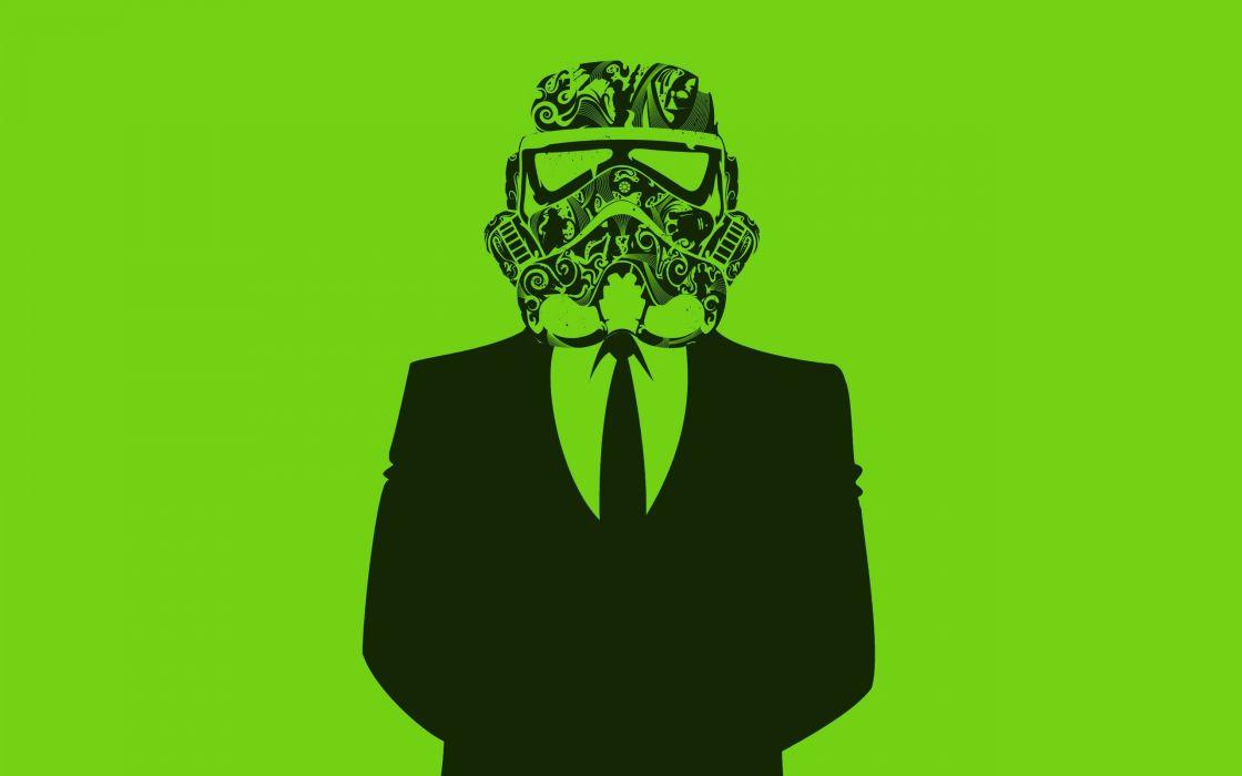 Star Wars stormtroopers plain wallpaper