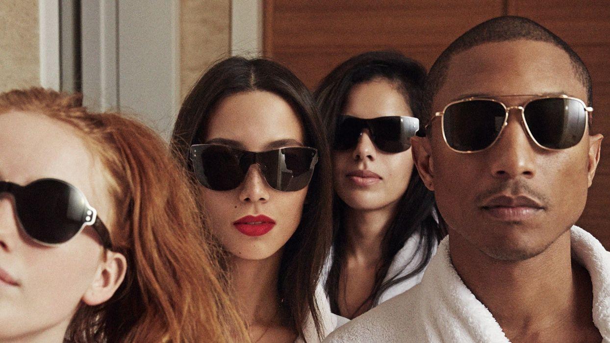 Pharrell-Williams - G I R L wallpaper