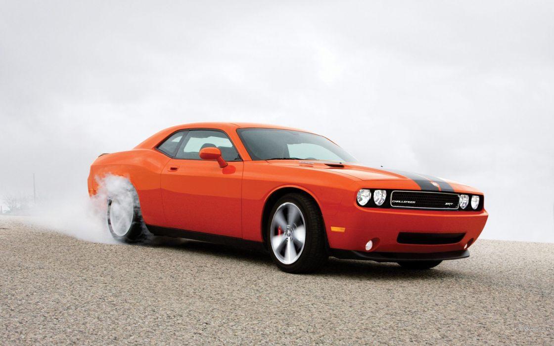 cars Dodge Challenger Dodge Challenger SRT8 wallpaper