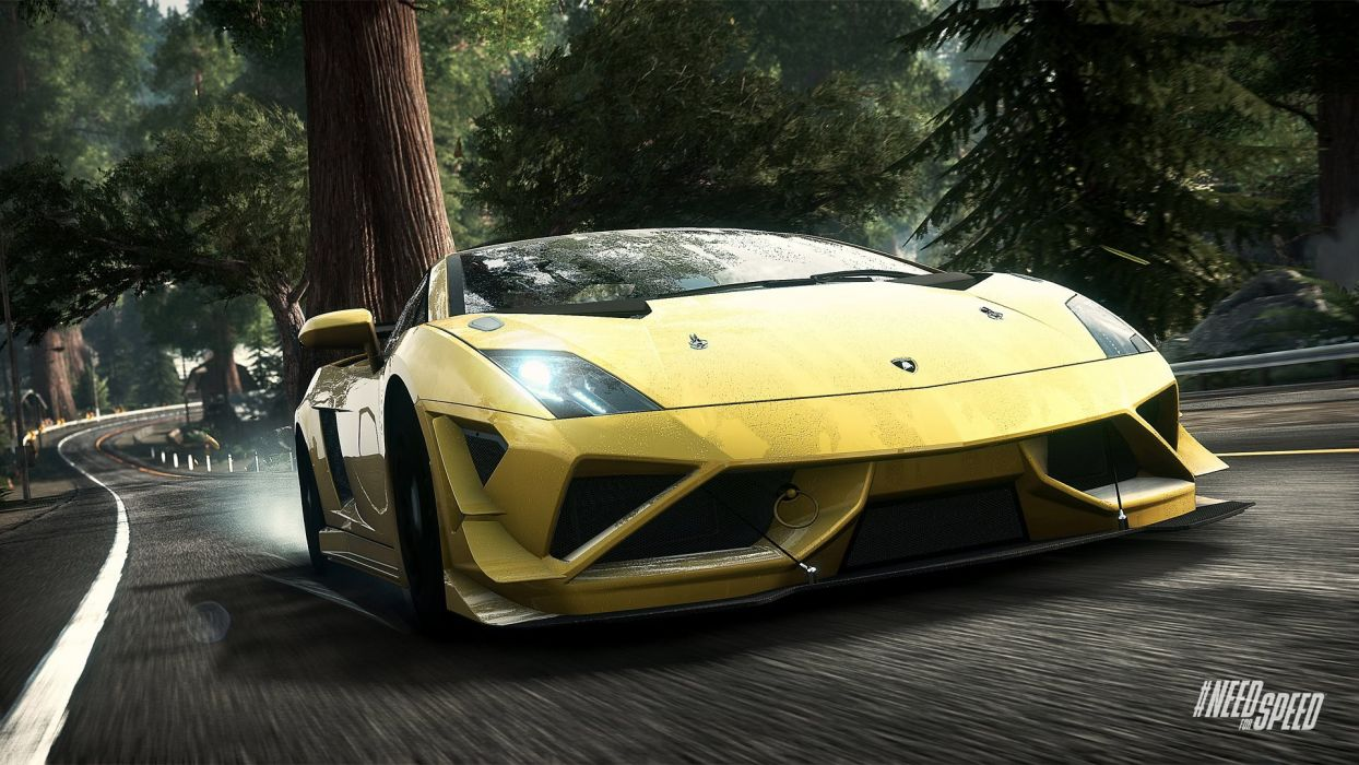 Lamborghini-Gallardo - Need-for-Speed:-Rivals wallpaper