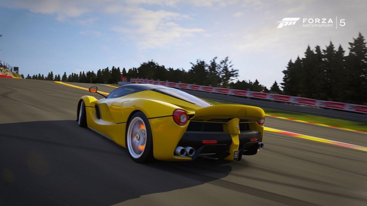 Ferrari-LaFerrari- Forza-5 wallpaper
