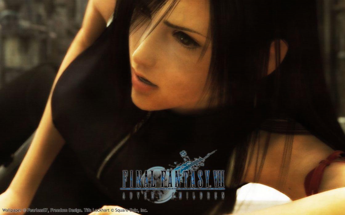 Final Fantasy Vii Advent Children Tifa Lockheart Wallpaper