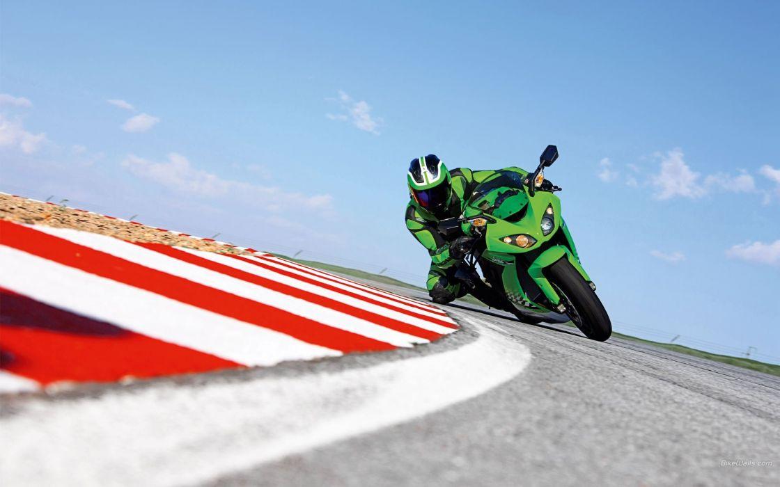 Kawasaki Ninja ZX-10R motorbikes wallpaper