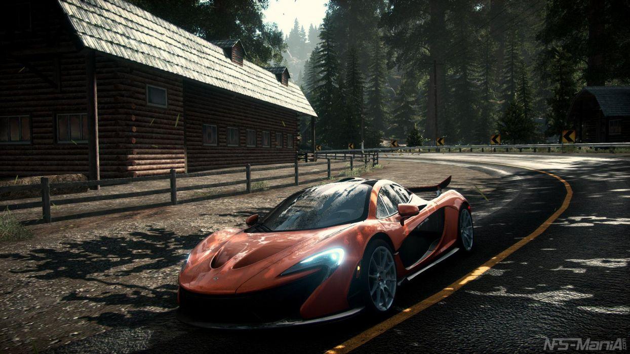 McLaren-P1 - Need-for-Speed:-Rivals wallpaper