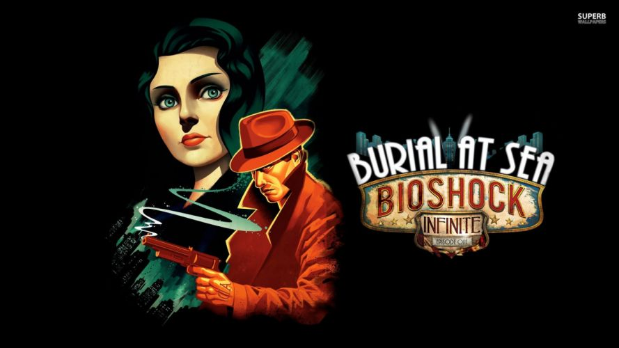 BioShock-Infinite: Burial-at-Sea wallpaper
