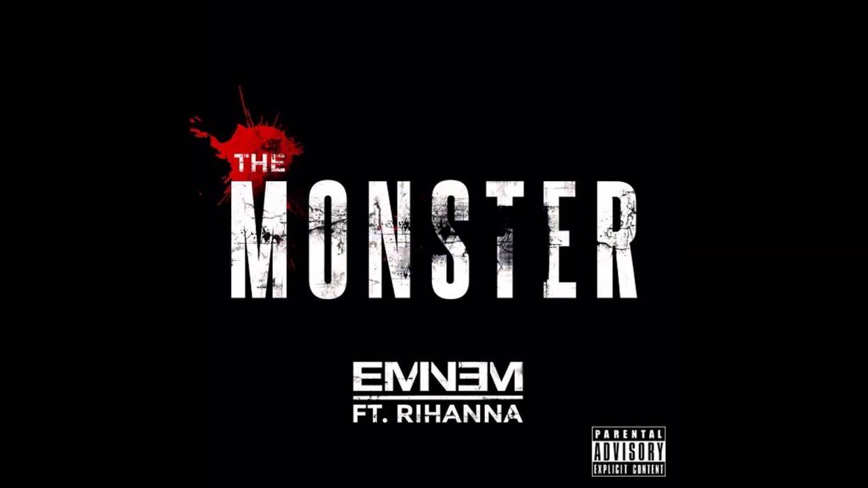 Eminem - The-Monster ft_ Rihanna wallpaper
