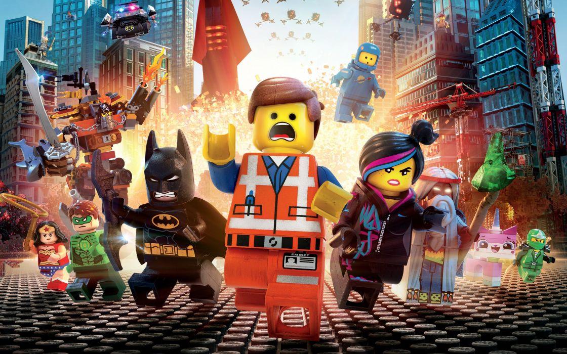 The-Lego-Movie wallpaper