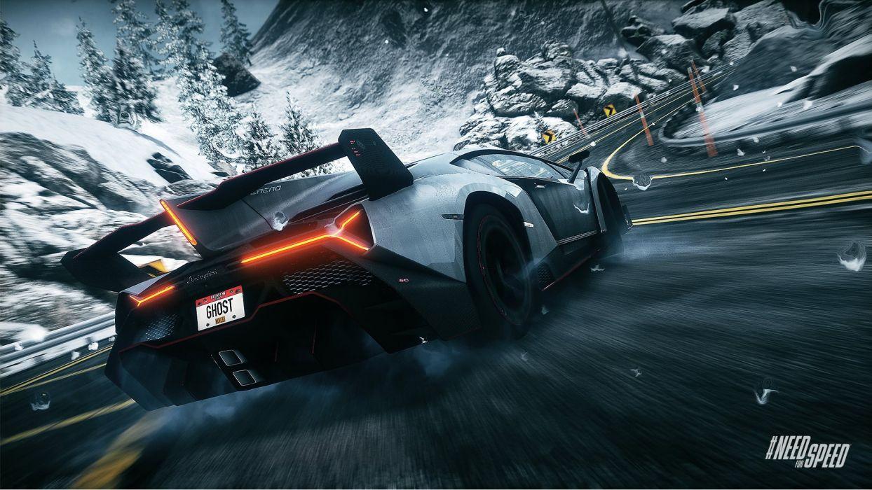 Lamborghini Veneno Need For Speed Rivals Wallpaper