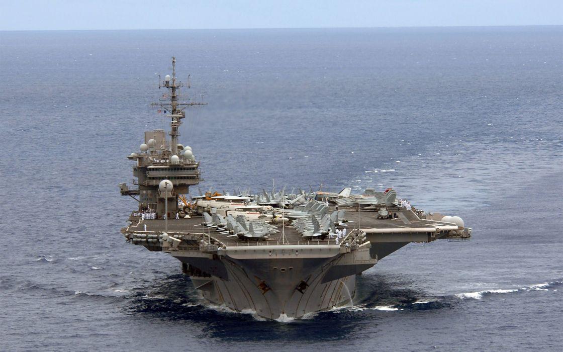 ocean ships aircraft carriers wallpaper