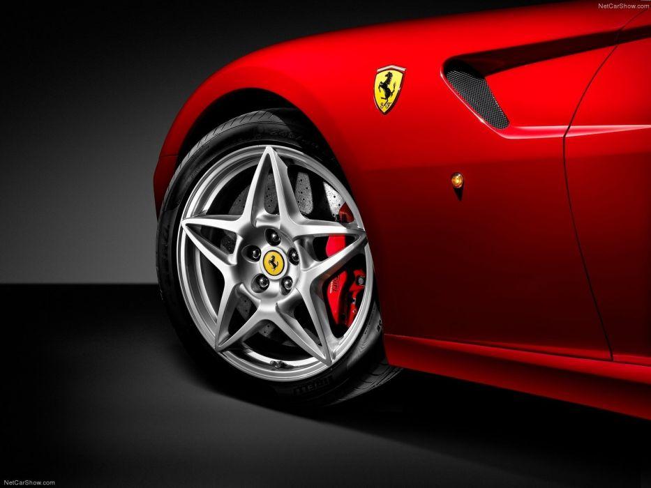 red cars Ferrari 599 Ferrari 599 GTB Fiorano wallpaper