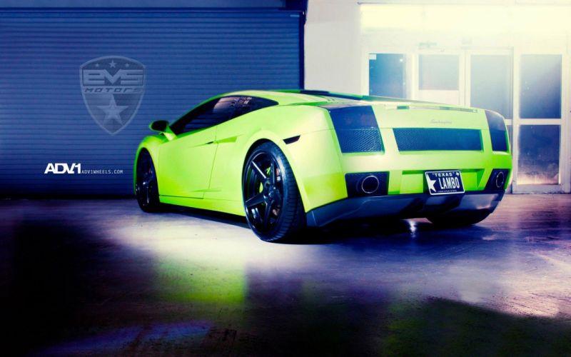 cars track Lamborghini Gallardo wallpaper