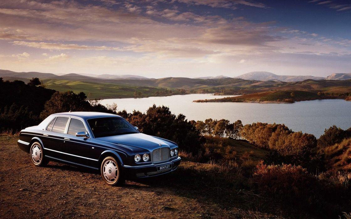 clouds Bentley Bentley Arnage wallpaper