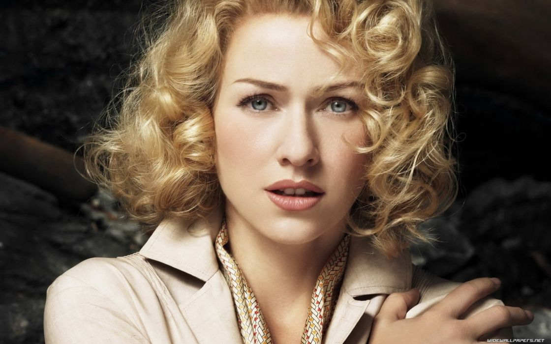 blondes women actress Naomi Watts curly hair wallpaper