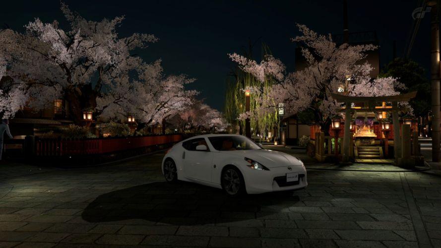 video games cars vehicles Nissan 370Z Gran Turismo 5 Playstation 3 JDM Japanese domestic market wallpaper