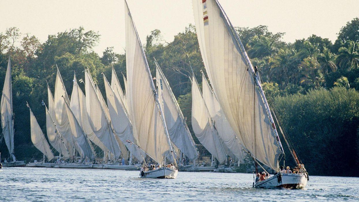 Egypt The River Nile wallpaper