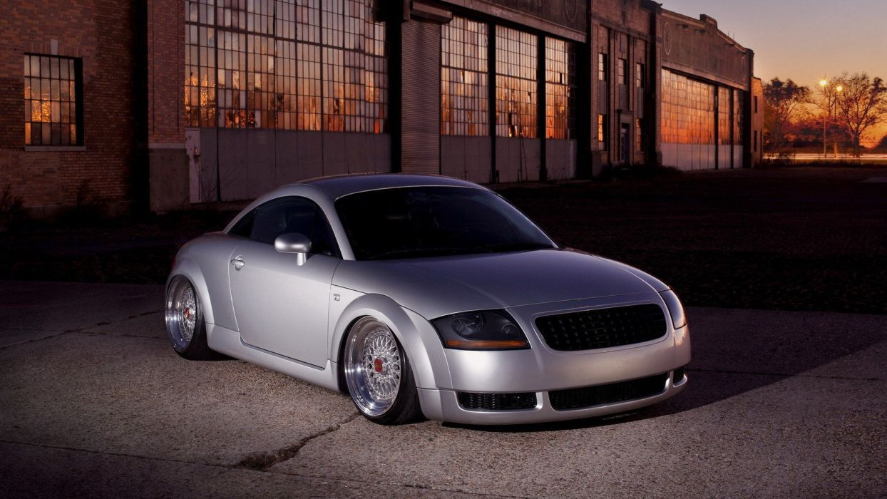 cars vehicles Audi TT Coupe wallpaper