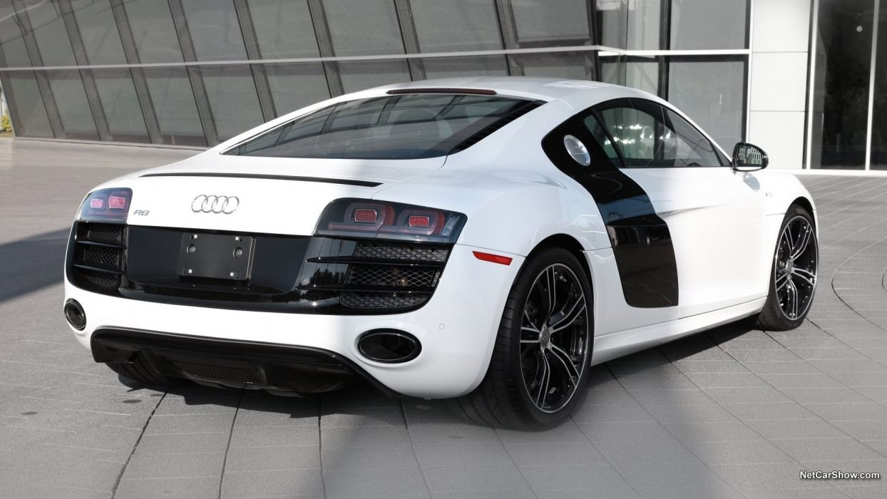 cars Audi Audi R8 coupe sports cars white cars wallpaper