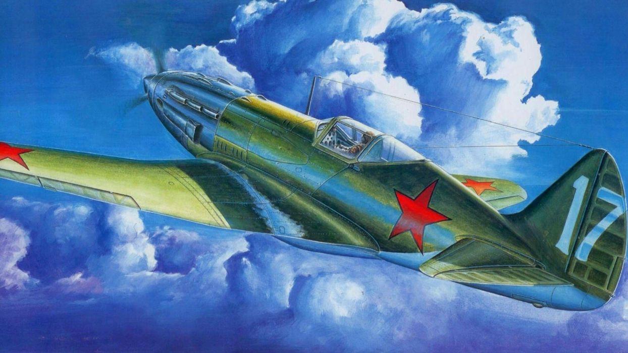 aircraft Mig-3 wallpaper