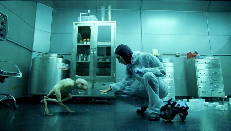 SPLICE horror sci-fi dark movie film wallpaper