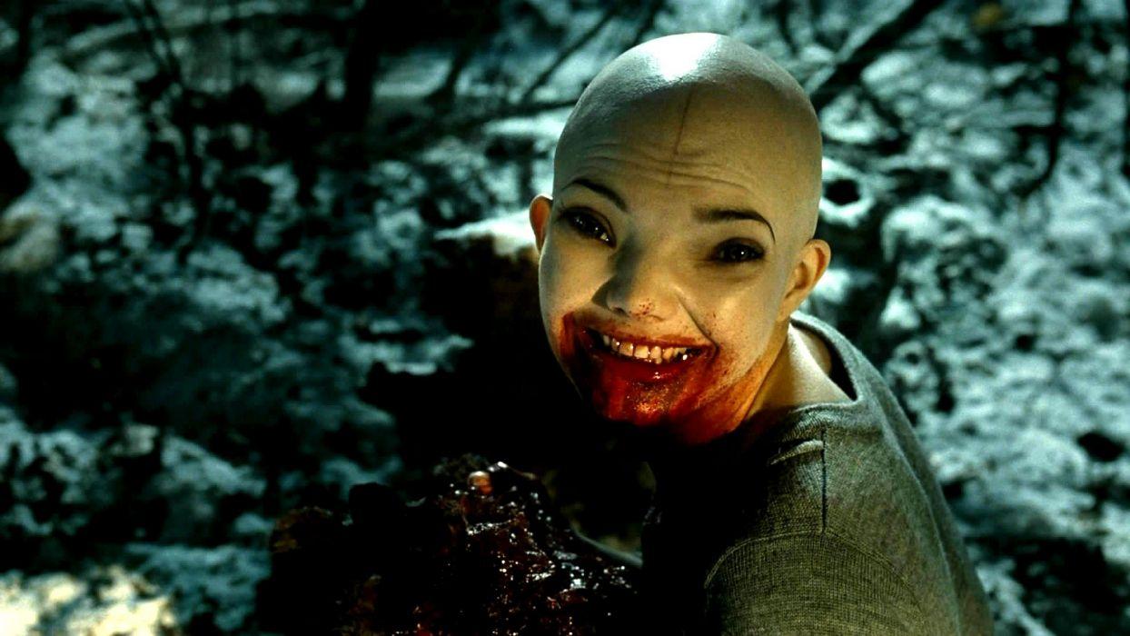 SPLICE horror sci-fi dark movie film poster blood wallpaper