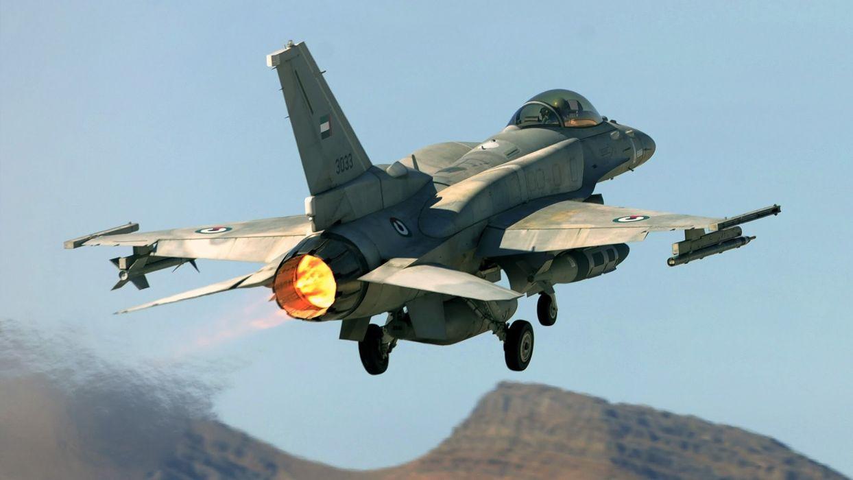 aircraft F-16 Fighting Falcon wallpaper