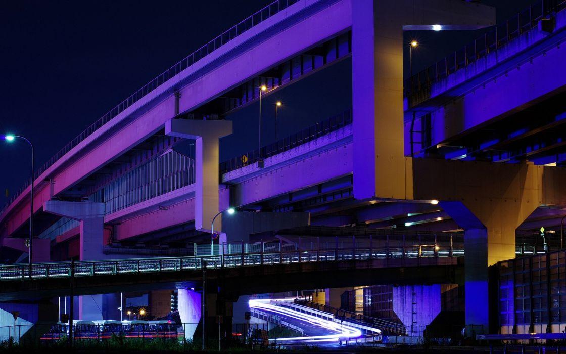 Japan Tokyo cityscapes streets urban city lights wallpaper