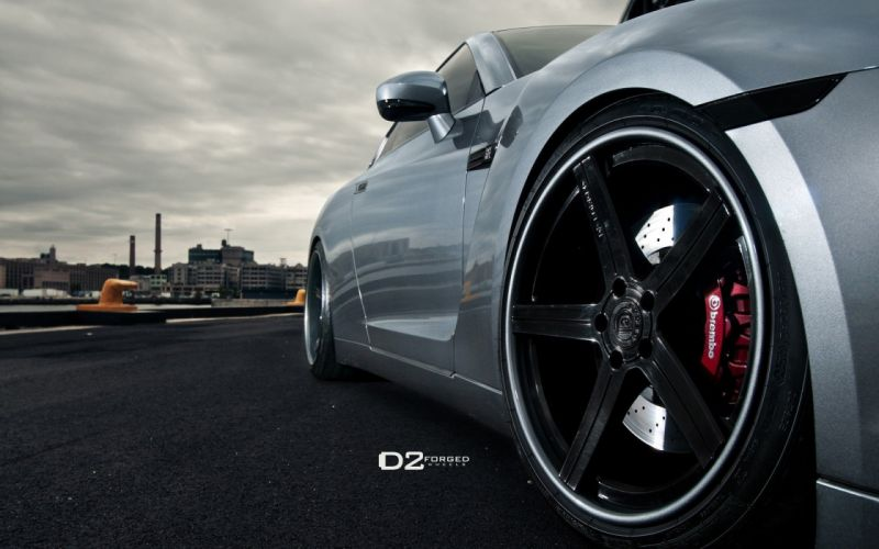 cars drive vehicles tuning wheels rims sports cars luxury sport cars speed Nissan GT-R R35 wallpaper