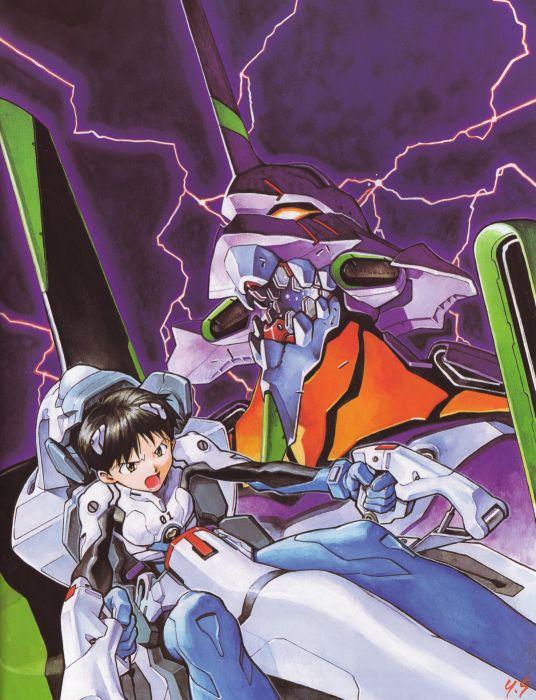Neon Genesis Evangelion Ikari Shinji wallpaper