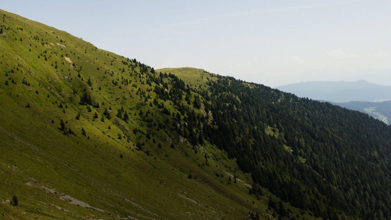 mountains trees Italy Alps wallpaper