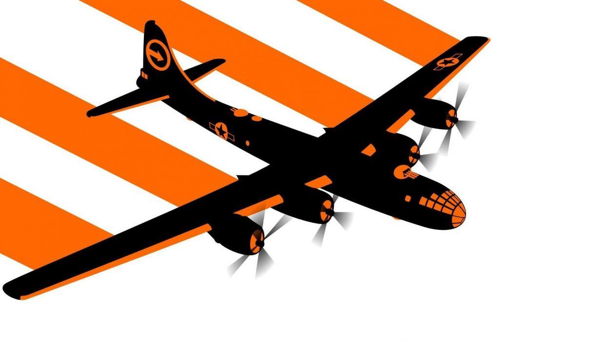 aircraft minimalistic military wallpaper