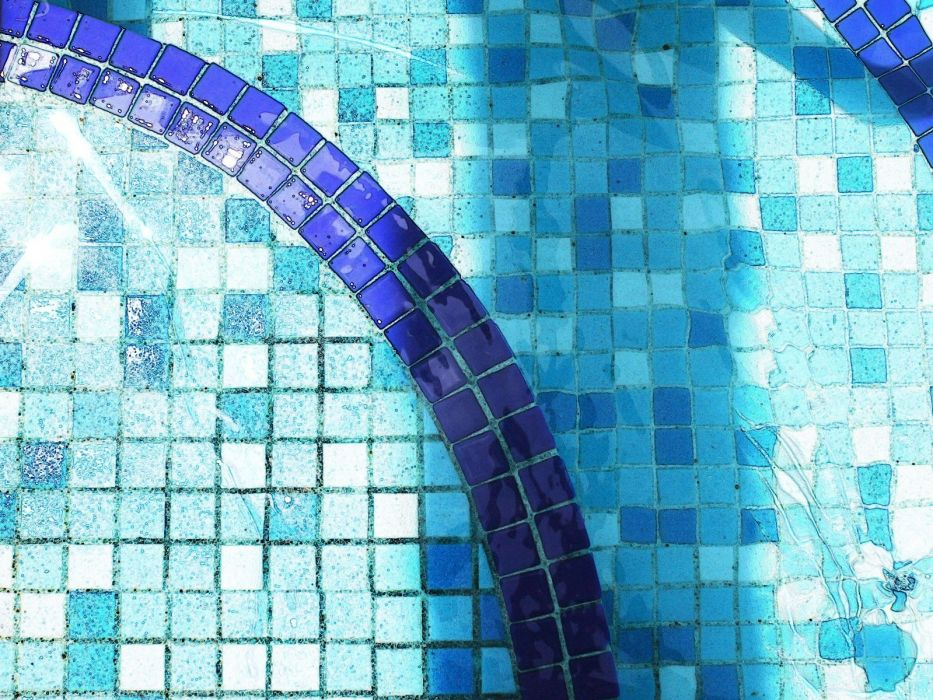 swimming pools tile wallpaper