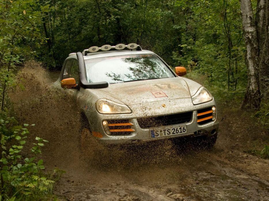 Porsche rally stage wallpaper