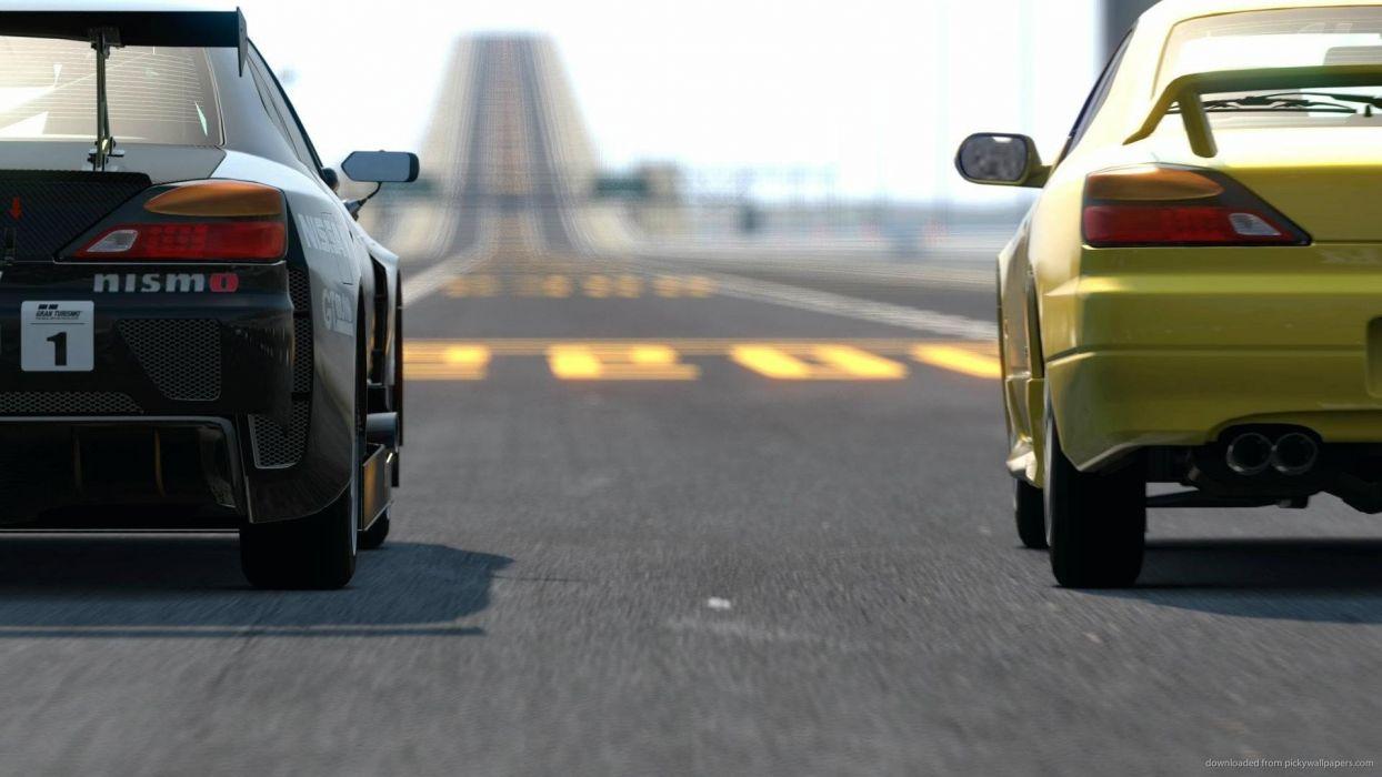 video games Nissan Silvia Gran Turismo 5 GT5 Aero wallpaper