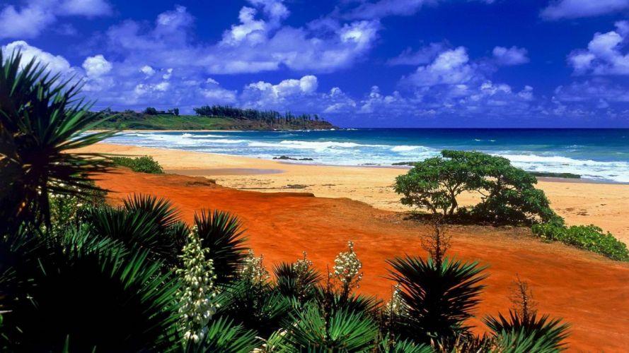 Hawaii kauai beaches wallpaper