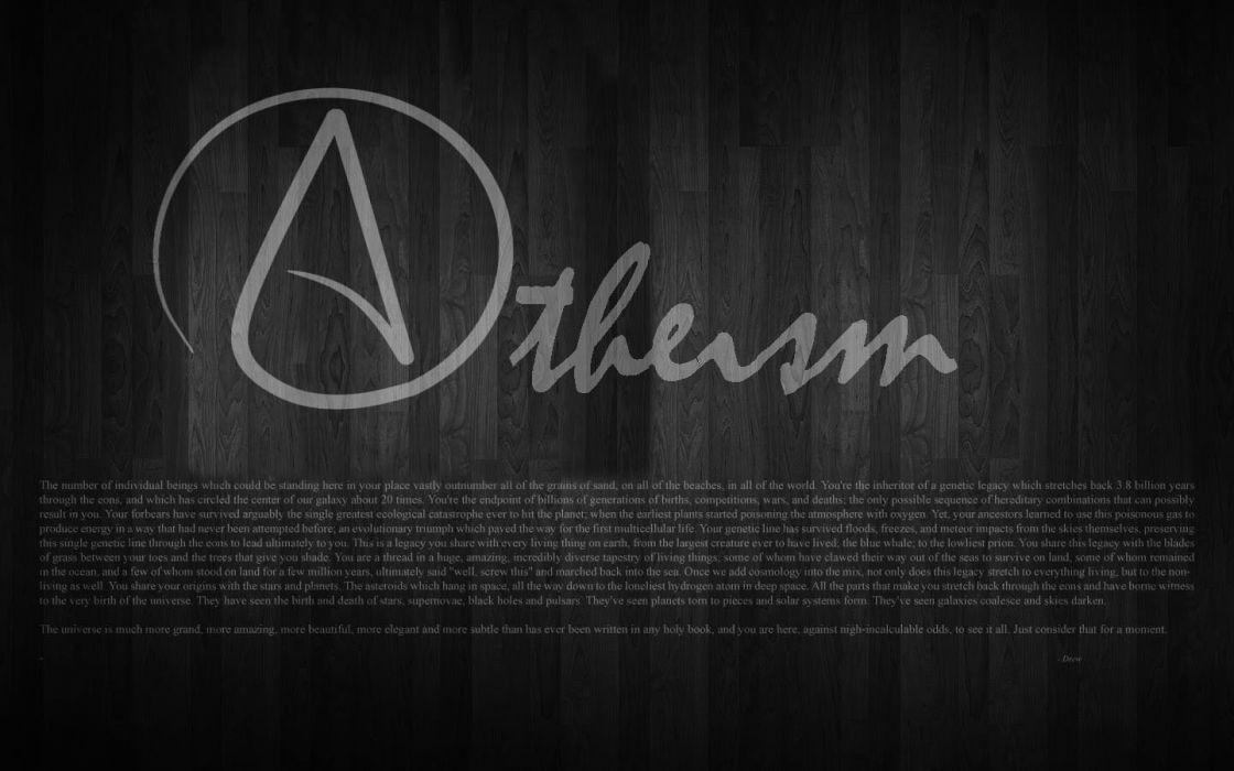 Atheism wallpaper 1440x900 290601 wallpaperup atheism wallpaper voltagebd Choice Image