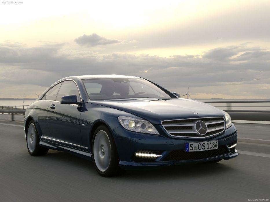 cars Mercedes-Benz Mercedes-Benz CL-Class wallpaper