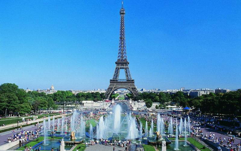 Eiffel Tower cityscapes wallpaper
