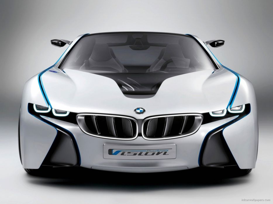 cars concept art BMW Vision wallpaper