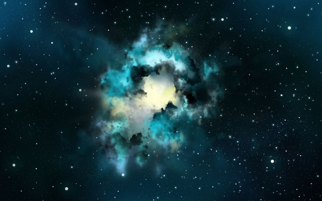 outer space nebulae wallpaper