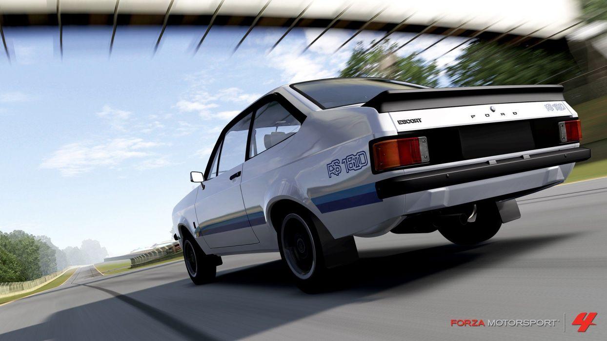 video games cars Xbox 360 Ford Escort Forza Motorsport 4 wallpaper