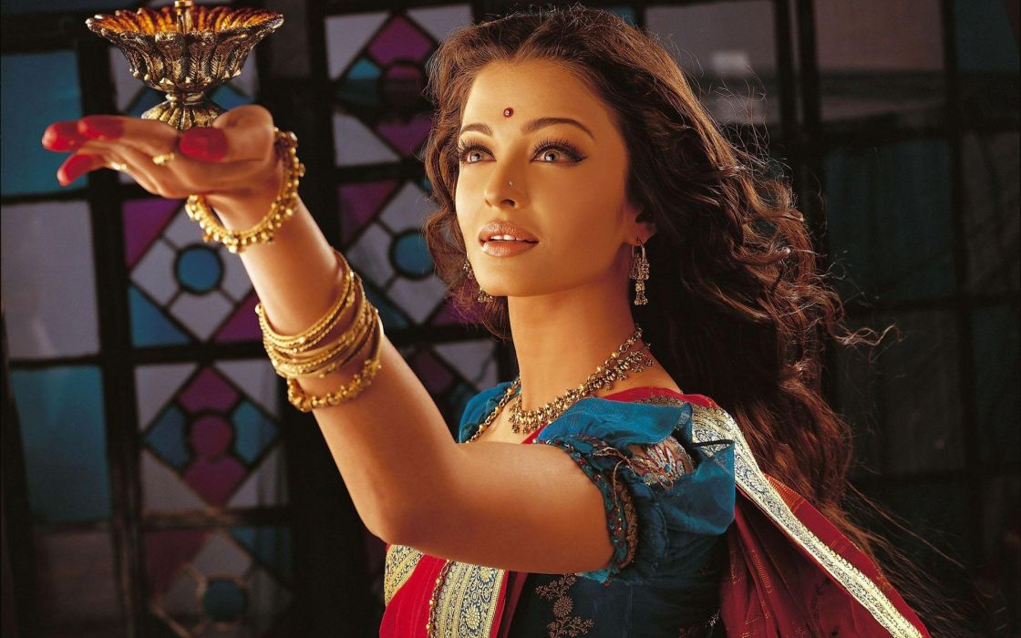 brunettes women models faces Indian wallpaper