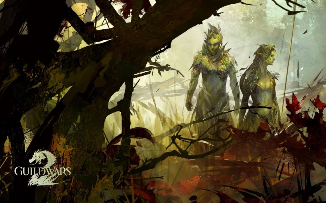video games fantasy art artwork Guild Wars 2 wallpaper