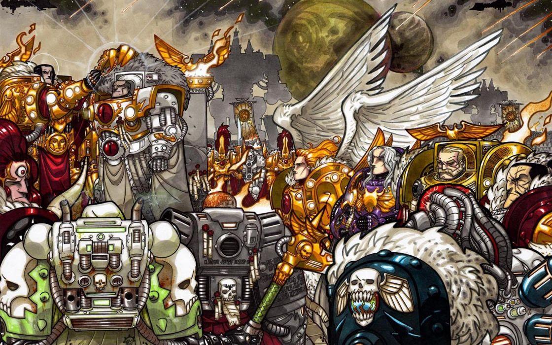 Warhammer space marines Warhammer 40K Blood Angel Primarch Space Marine warhammer 40k Emperor warhammer 40k Imperial Fists Warhammer 40k wallpaper
