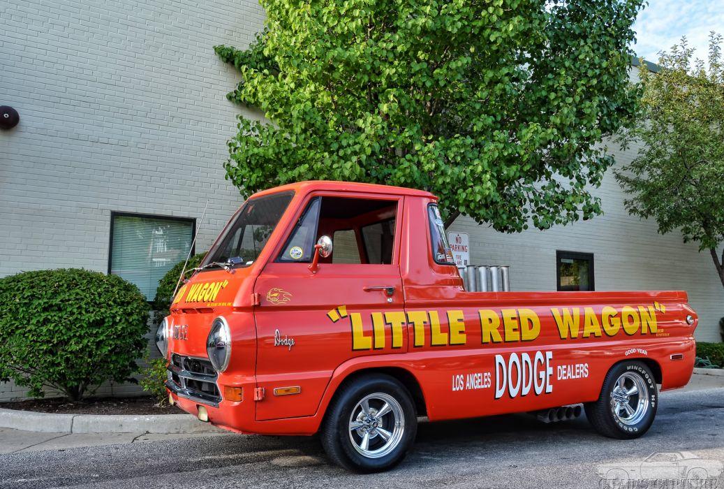 DRAG RACING race hot rod rods Dodge A100 Wheelie pickup classic     gd wallpaper