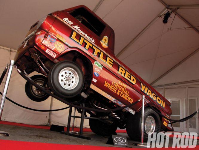 DRAG RACING race hot rod rods Dodge A100 Wheelie pickup classic ge wallpaper