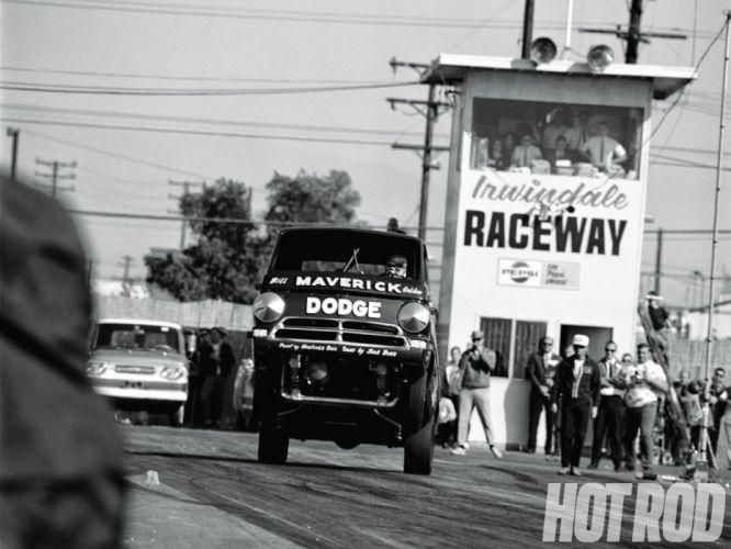 DRAG RACING race hot rod rods Dodge A100 Wheelie pickup classic g wallpaper