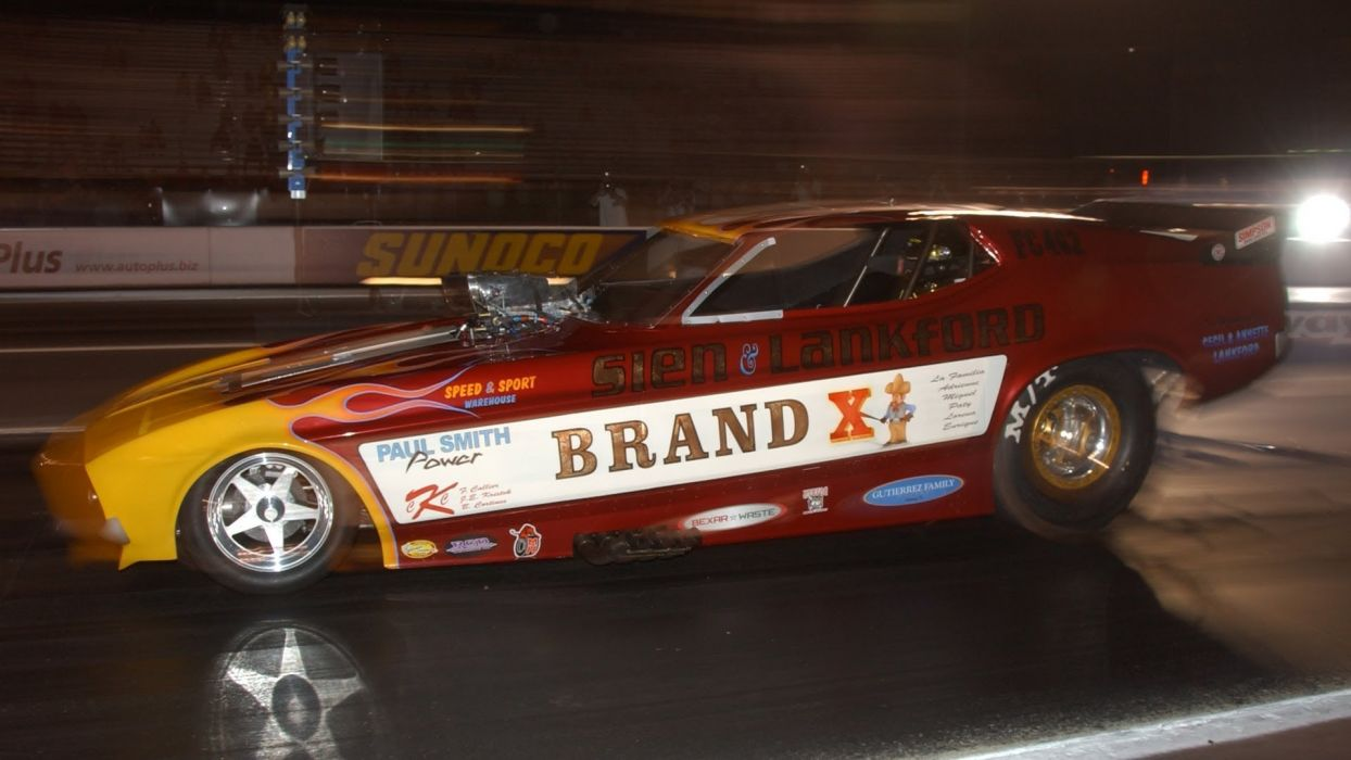 DRAG RACING race hot rod rods ford funnycar ford mustang   bx wallpaper