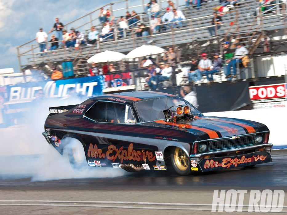 DRAG RACING race hot rod rods funnycar chevrolet nova   f wallpaper