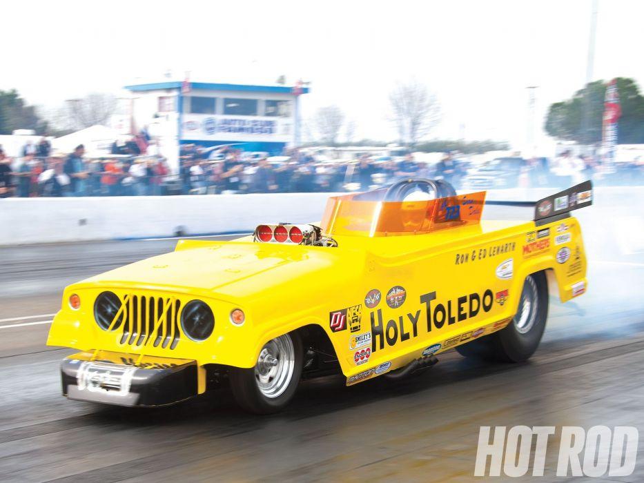 DRAG RACING race hot rod rods funnycar jeep    f wallpaper