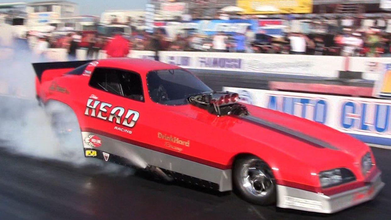 DRAG RACING race hot rod rods funnycar pontiac firebird trans-am   fs wallpaper